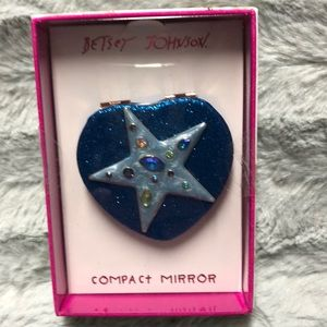 Betsey Johnson Compact Mirror